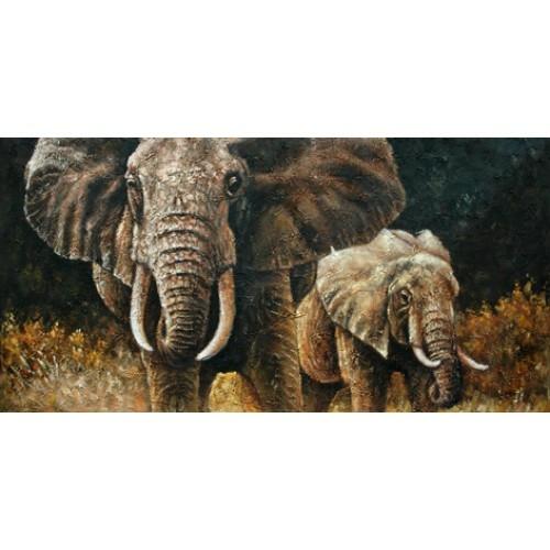 Картина слон купить в салоне мебели Театр Диванов в Калининграде