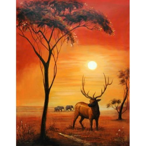 Вертикальная картина купить в салоне мебели Театр Диванов в Калининграде