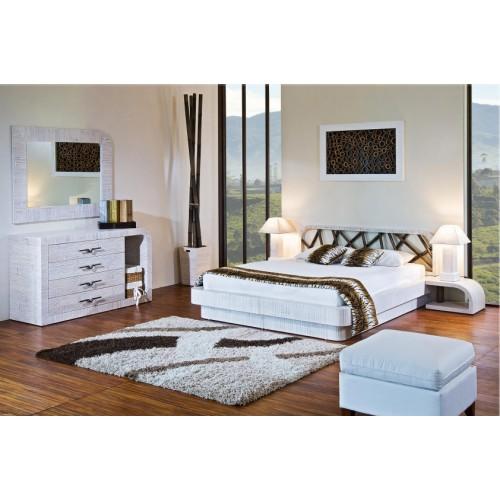 Двуспальная кровать из бамбука Crystal купить в Калининграде