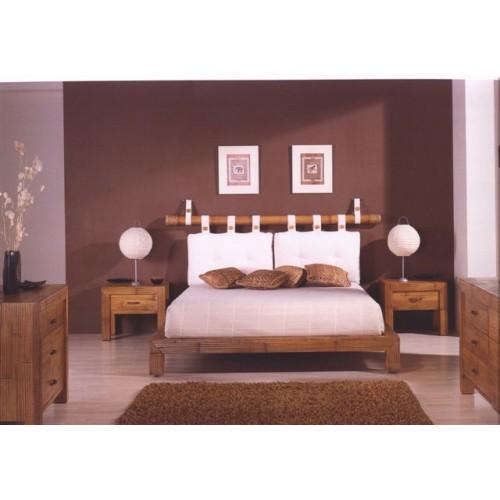 Двуспальная кровать из бамбука Essential