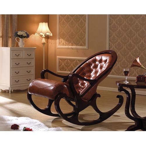 деревянное кресло качалка Mobilica M318 Black Walnut в калининграде