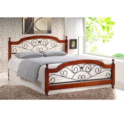 Стильная кованая двуспальная кровать Amalia купить в Калининграде