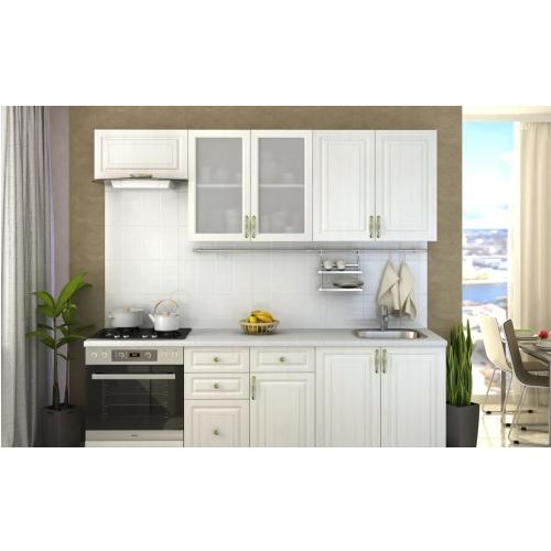 Маленький кухонный гарнитур Юлия в светлом оттенке купить в Калининграде