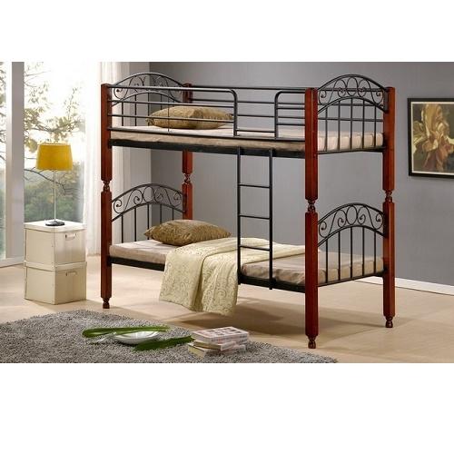 Металлическая двухъярусная кровать купить в Калининграде