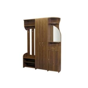 Деревянная прихожая Evrika в Калининграде, купить мебель для прихожей недорого в Мебельном доме Диамир