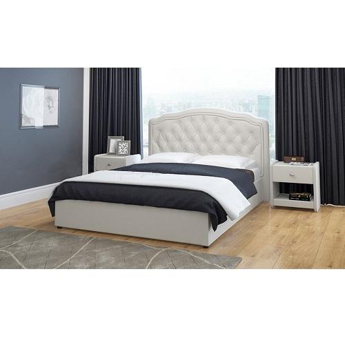 Мягкая кровать Сельта в Калининграде, купить двуспальную кровать недорого в Мебельном доме Диамир