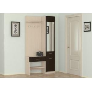 Маленькая прихожая Домино 2У в Калининграде, купить мебель для прихожей недорого в Мебельном доме Диамир