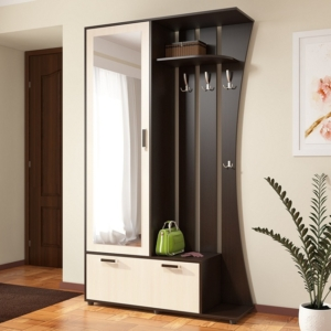 Стильная прихожая Домино 4У в Калининграде, купить мебель для прихожей недорого в Мебельном доме Диамир