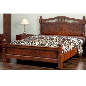 Двуспальная кровать с рисунком Карина-15 купить в Калининграде