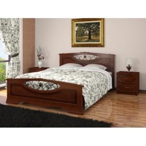 Красивая двуспальная кровать Елена-5 купить в Калининграде