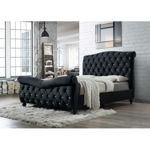 Кровать Diolina 160 в черном цвете купить в Калининграде