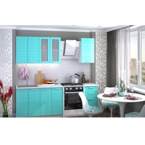 Кухонный гарнитур Линда в голубом цвете купить в Калининграде