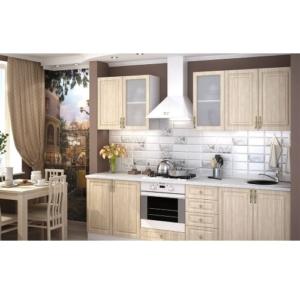 Светлый кухонный гарнитур Юлия купить в Калининграде