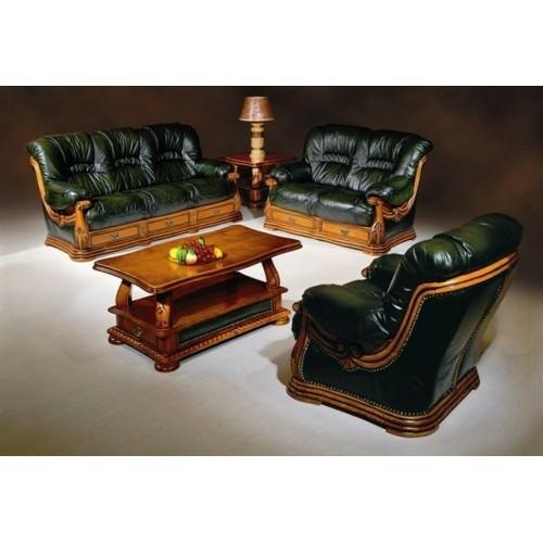 Комплект кожаной мебели в Калининграде.