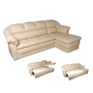 Угловой кожаный диван в Калининграде.